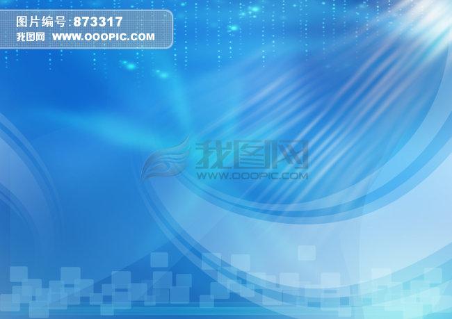 蓝色模板高清背景图下载图片下载