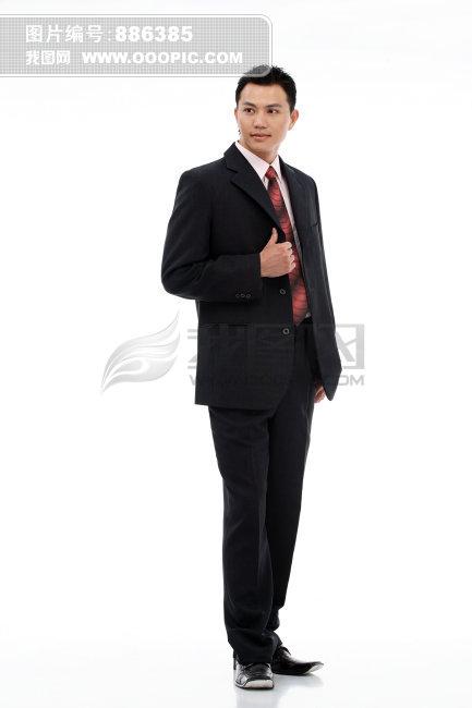 西装皮鞋男人图片