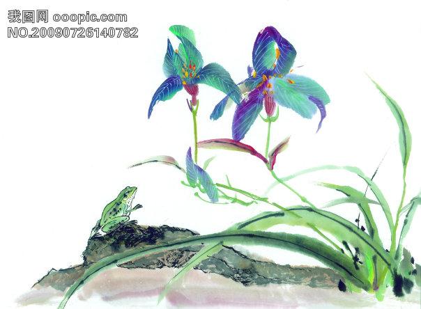 古图 绘画 昆虫-美术绘画 文化艺术图片素材 摄影图设计素材下载 第316
