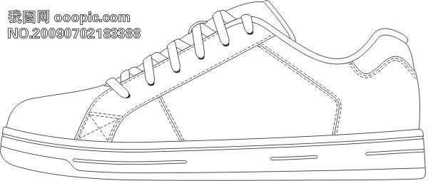 滑板步骤简笔画图片